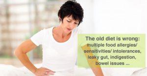 Old diet is wrong : multiple food sensitivities/intolerances